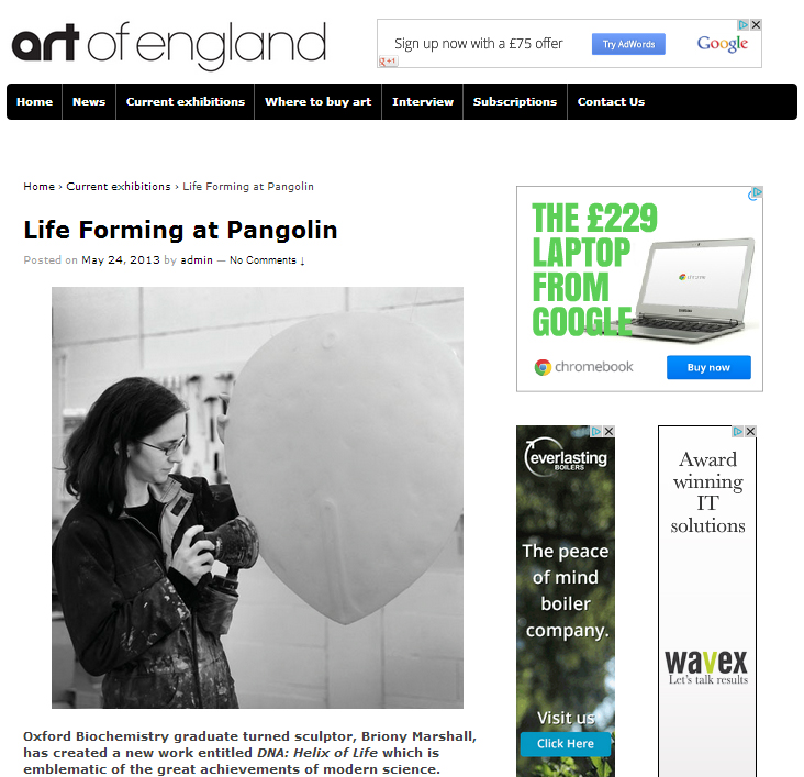 Art of England Review